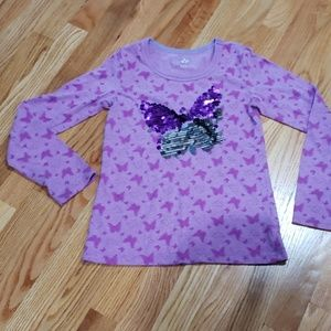 SO flip sequence butterfly shirt
